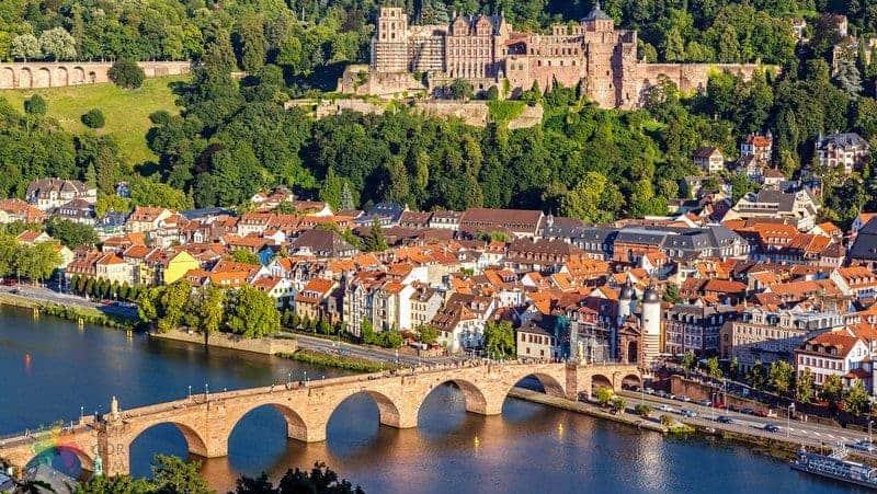 almanya Heidelberg