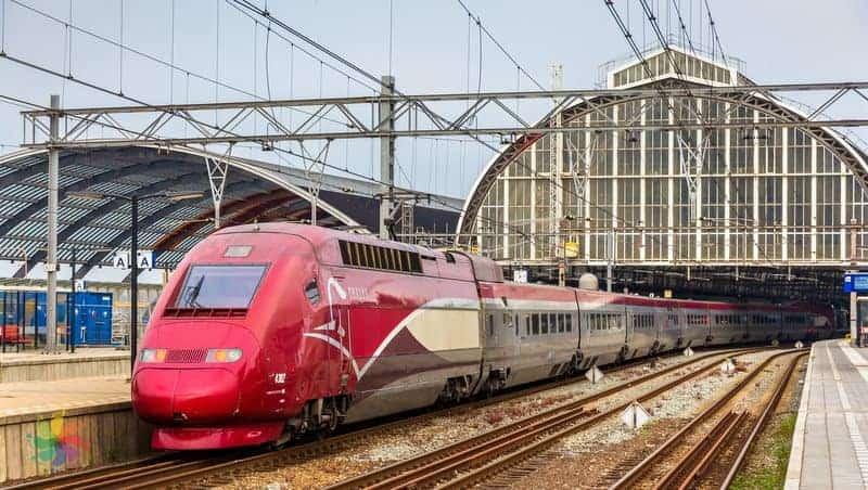 amsterdam'a trenle nasıl gidilir