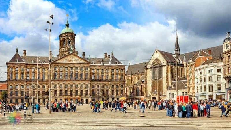 amsterdam'da gezilecek yerler dam meydanı