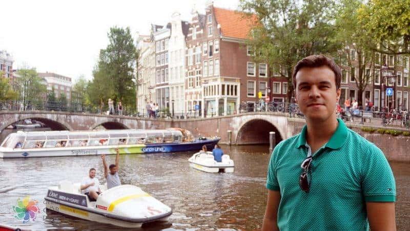 Amsterdam'da nereler gezilir Amsterdam kanalları