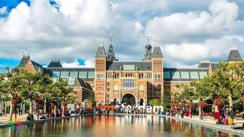 amsterdam gezilecek yerler Rijksmuseum