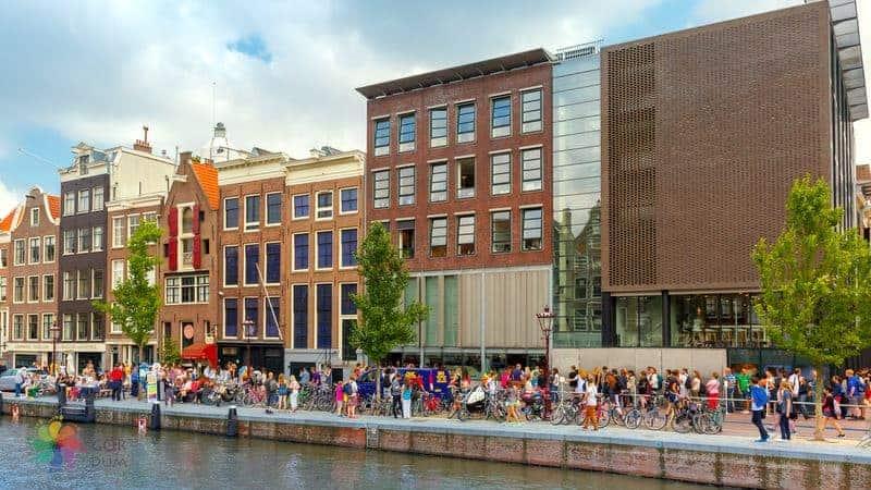 amsterdam gezilecek yerler Anne Frank Evi