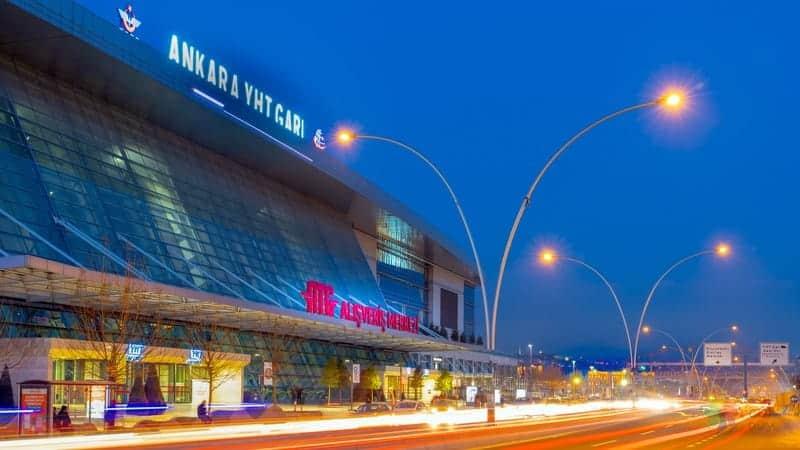 Gar otelleri Ankara'da nerede kalınır