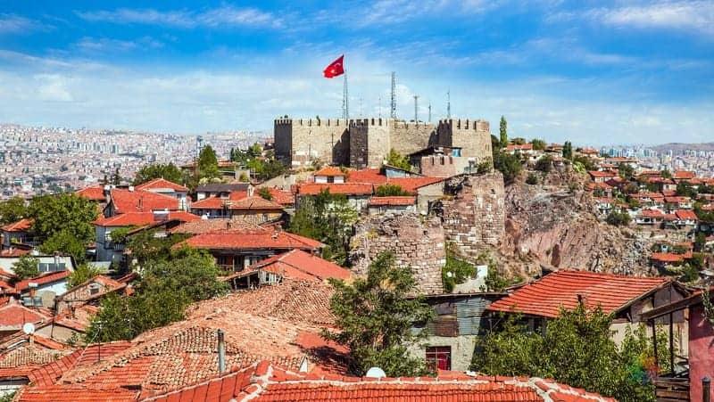 Ankara'da konaklama yapılacak bölgeler