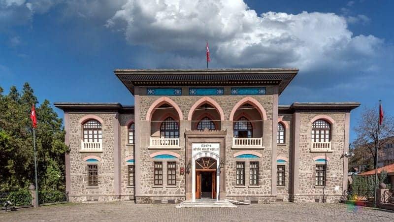 Ankara Cumhuriyet Müzesi II TBMM Binası Ankara gezilecek yerler