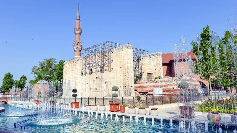 Augustus Tapınağı Ankara'da görülmesi gereken yerler