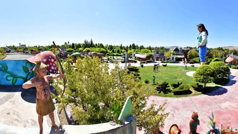 Harikalar Diyarı Parkı Ankara gezilecek yerler