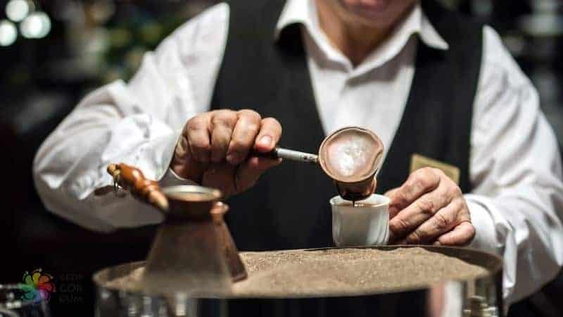 Hamamönü kumda kahve