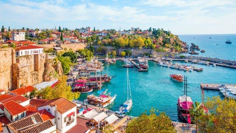 kaleiçi Antalya gezilecek yerler