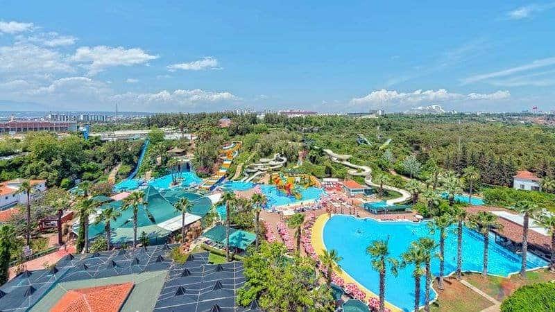 Antalya Aqualand Antalya'da nereler gezilir