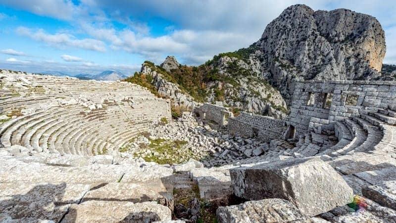 Termessos Antik Kenti Antalya'da gezilecek yerler
