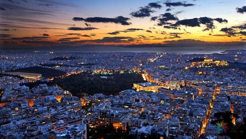 Lycabettus Tepesi gezisi Atina'da yapılacak şeyler