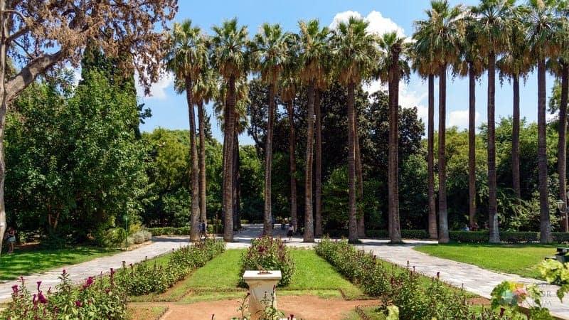 National Garden Atina'da yapılacak şeyler