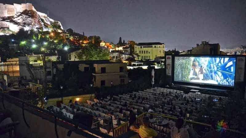 Cine Paris Atina'da ne yapılır