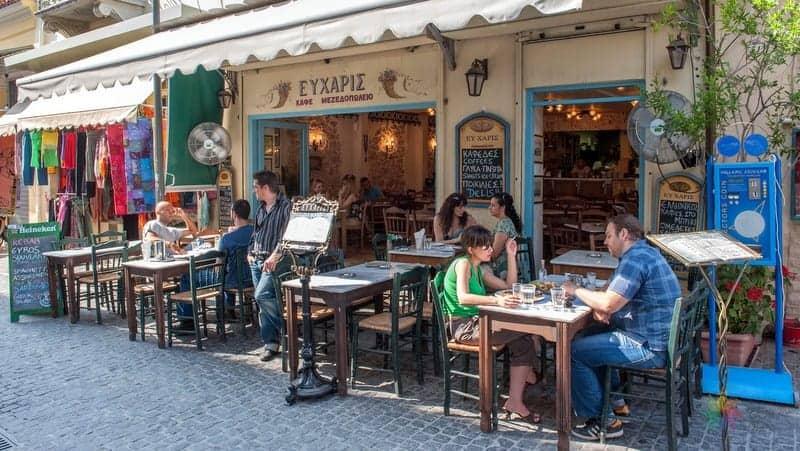 Atina'da ne yapılır yöresel yemekler