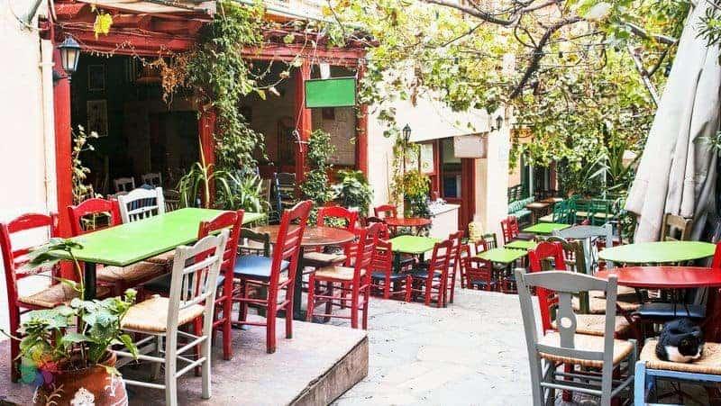 Atina yeme içme, Yunanistan yemekleri