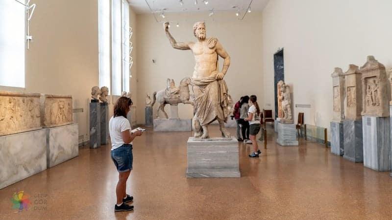 National Archaeological Museum Atina gezisi