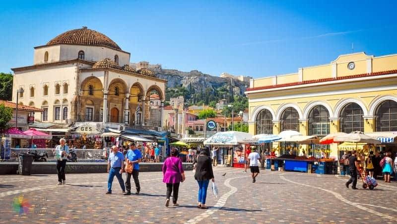 Monastiraki Atina'da gezilecek yerler
