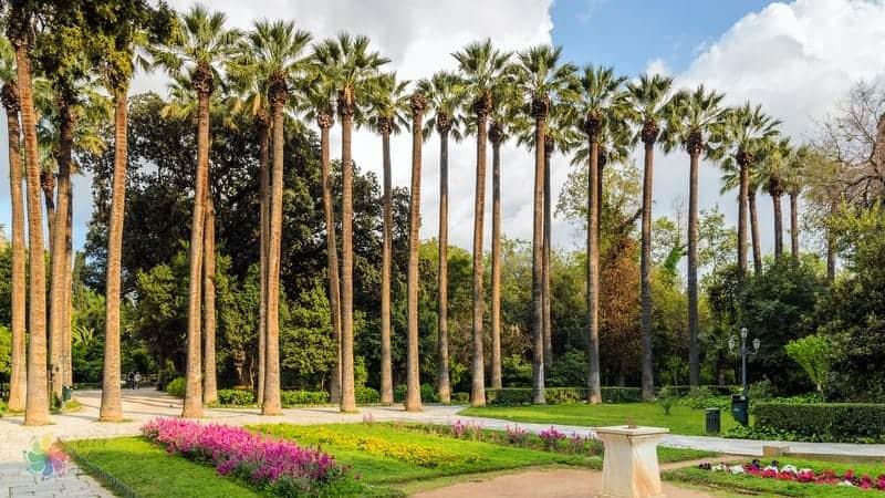National Garden Atina gezilecek yerler