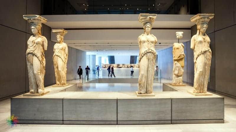 Akropolis Müzesi Atina gezi notları