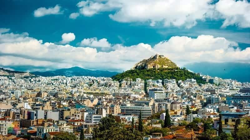 Lycabettus Tepesi Atina gezilecek yerler