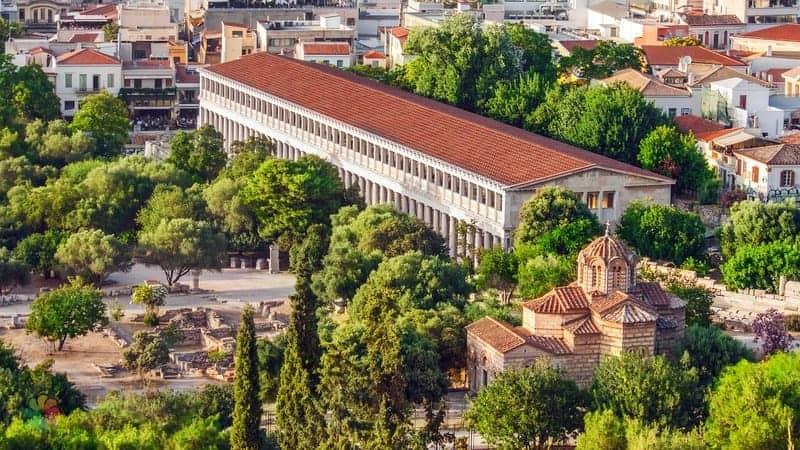 Ancient Agora of Athens Atina'da gezilecek yerler