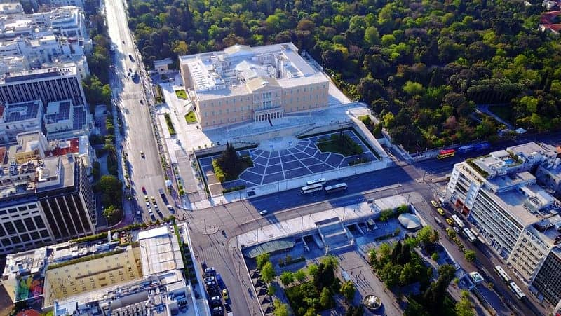 Parliament House Atina gezilecek yerler