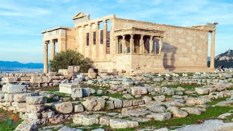 Erechtheion Atina'da gezilmesi gereken yerler