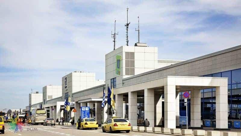 Atina Havalimanı şehir merkezi taksi