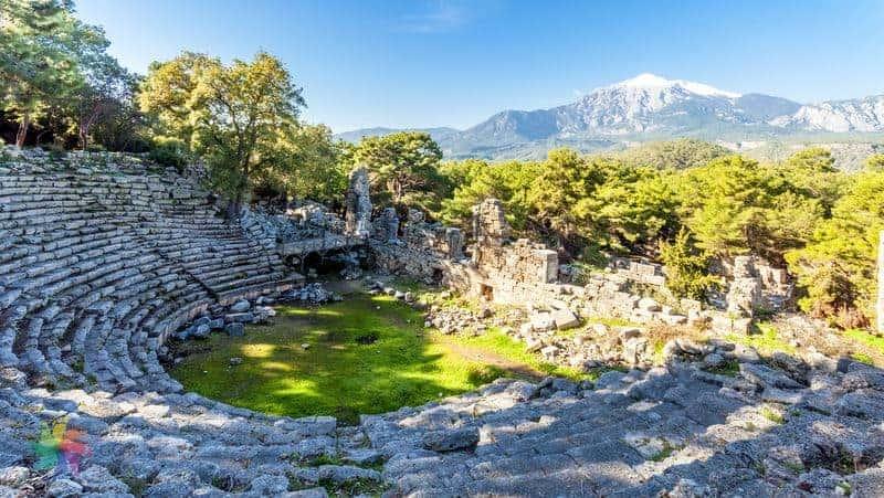 Antalya Phaselis Antik Kenti Amfitiyatro