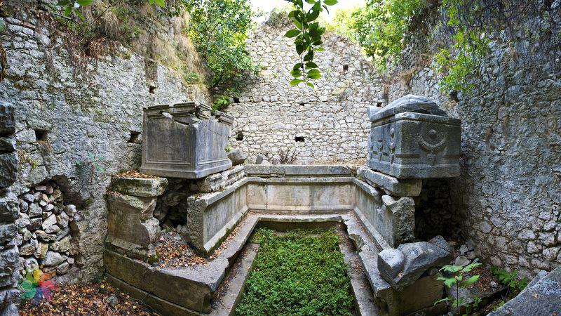 Antalya antik kent faselis