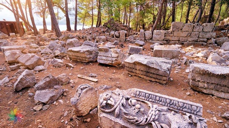 Antalya Faselis Antik Kenti bilgi