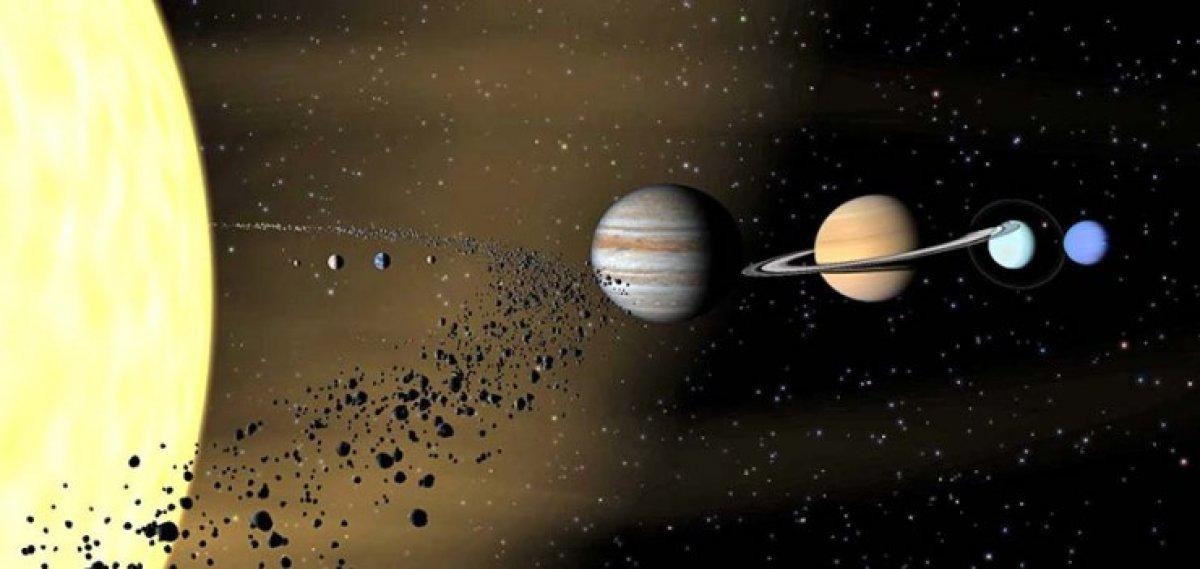 Truva kuşağında ilk defa kuyruklu yıldız tespit edildi #1